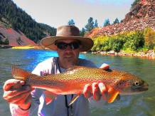 Flyfishing Missoulas Blackfoot River