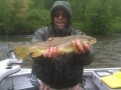flyfishing the clark fork river in the spring